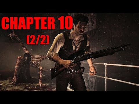 The Evil Within Walkthrough Chapter 10 - The Craftsman's Tools (2/2) No Damage / All Collectibles