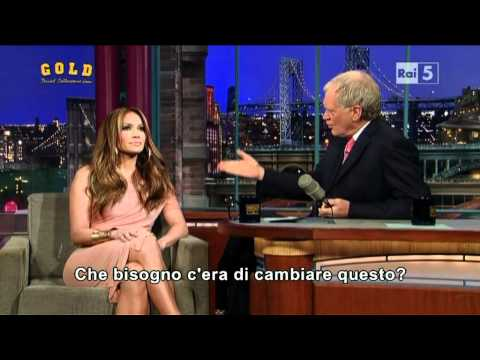 Thumbnail: David Letterman Show - intervista a Jennifer Lopez
