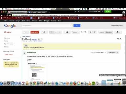 Google Groups Collaborative Inbox Demo