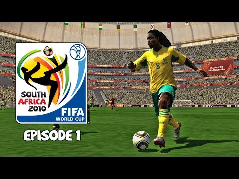PES 2010 - FIFA World Cup 2010: Episode 1!
