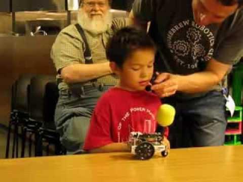 Home Brew Robotics Club Meeting - Jun 2013 - TableBot & FloorBot Challenge Phase I - Part 1