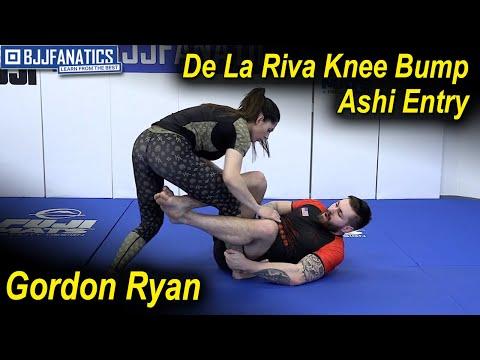 De La Riva Knee Bump Ashi Entry by Gordon Ryan