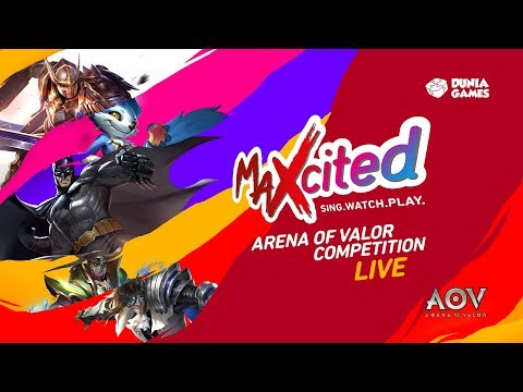 MAXcited 2017: Arena of Valor Competition - Yogyakarta Day 2