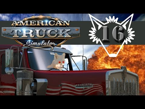 American Truck Simulator | Pulled Over By the Police in Las Vegas!? | Part 16 - Gameplay Let's Play