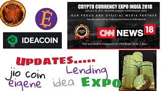 Updates About... Lending, Crypto Expo, Jio Coin