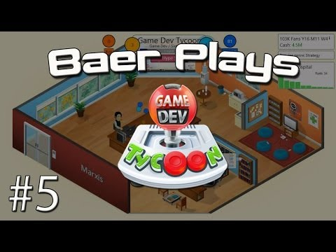 Baer Plays Game Dev Tycoon (Pt. 5) - Sellout!