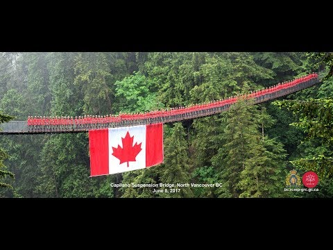 Behind The Scenes, The Making of the Capilano Suspension Bridge Photo - Video