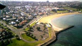 Parkzone Radian, 2nd Time Flying over Williamstowne Cam Front on, Melb AU...