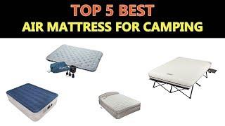 Best Air Mattress for Camping 2018