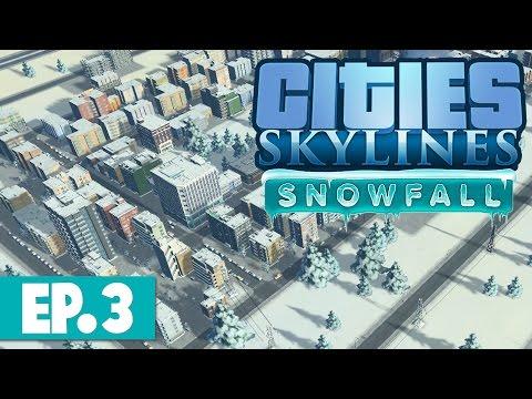 Cities Skylines: Snowfall - BUSES EVERYWHERE! #3