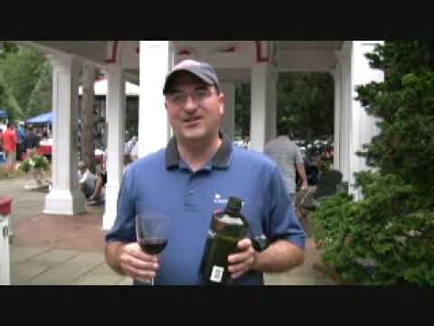 Ken Hoggins of www.KensWineGuide com Offers Wine Tips at the Saratoga Race Track