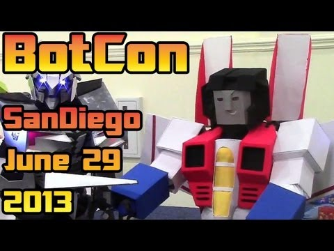 BotCon - 2013: Transformers Convention - Saturday June 29th - The full experience