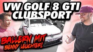 JP Performance - Ballern mit Benny Leuchter | VW Golf GTI Clubsport