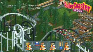 RollerCoaster Tycoon Opening (Loopy Landscapes and Corkscrew Follies) HD