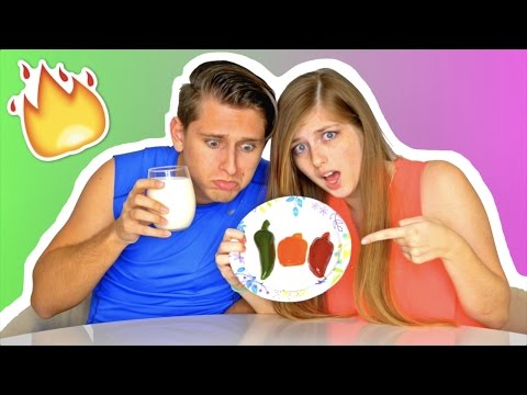 Thumbnail: SPICY GUMMY PEPPER CHALLENGE!
