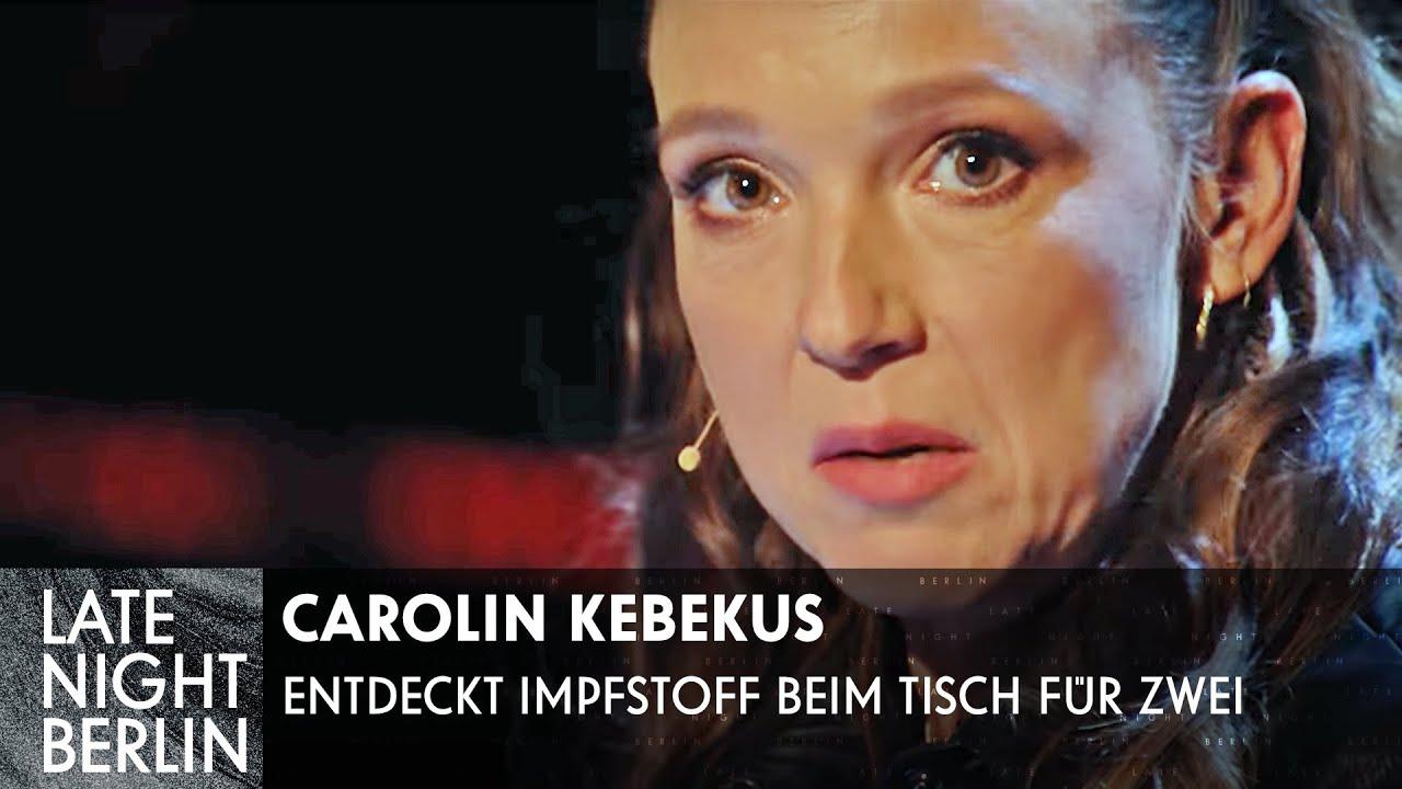 Problemteenager findet Impfstoff! Tisch für zwei mit Carolin Kebekus | Late Night Berlin | ProSieben