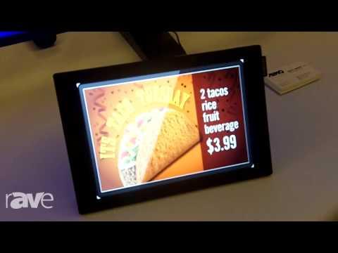 "E4 AV Tour: Samsung Business Showcases Its 10"" DBD Display"