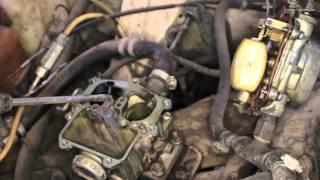 видео Регулировка карбюратора газ 53 своими руками