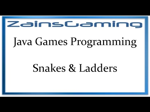 Java Games Programming Tut06 - Snakes & Ladders (Planning)