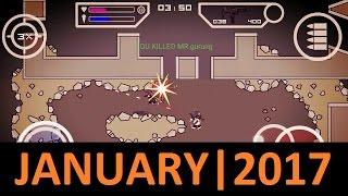 Best Of DA2 : Mini Militia | JANUARY 2017 | Gameplay