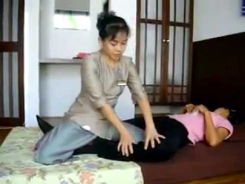 thai massage thai traditional yoga massage youtube. Black Bedroom Furniture Sets. Home Design Ideas