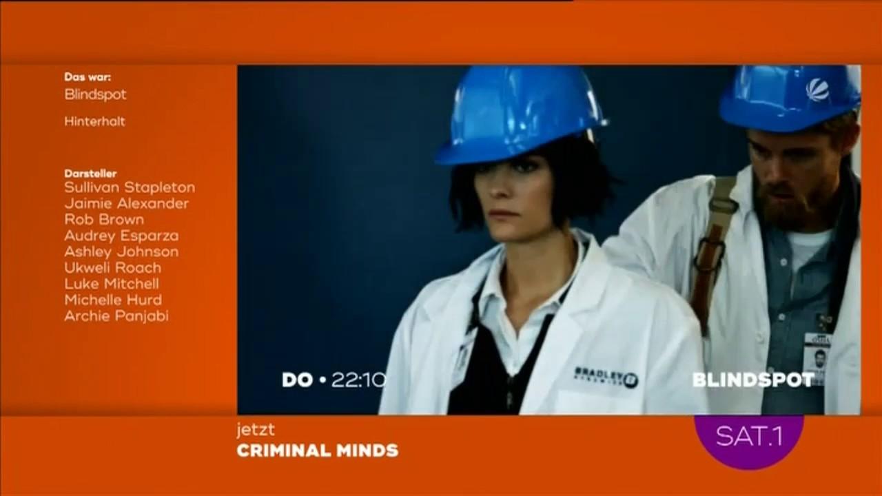 Blindspot Staffel 2 Sat 1