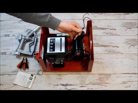 Насос для перекачки топлива ДК DK8020