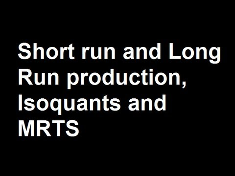 short run and long run This study note provides a short introduction to fixed and variable costs for businesses in the short run.