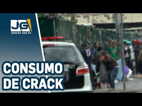 Brasil é campeão mundial no consumo de crack