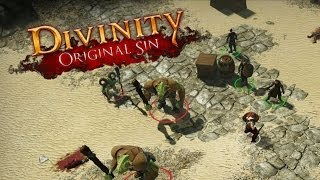 Divinity: Original Sin - Basic Introduction (Alpha Gameplay)