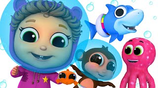 Baby Shark Sea Creatures and MORE! | Baby Joy Joy on Clap Clap Baby