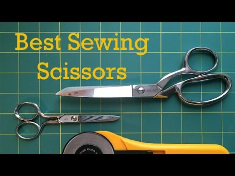 The BEST Sewing Scissors: Quick Tip #1