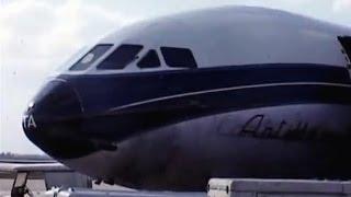 Air France Sud SE 210 Caravelle Departure Miami 1970