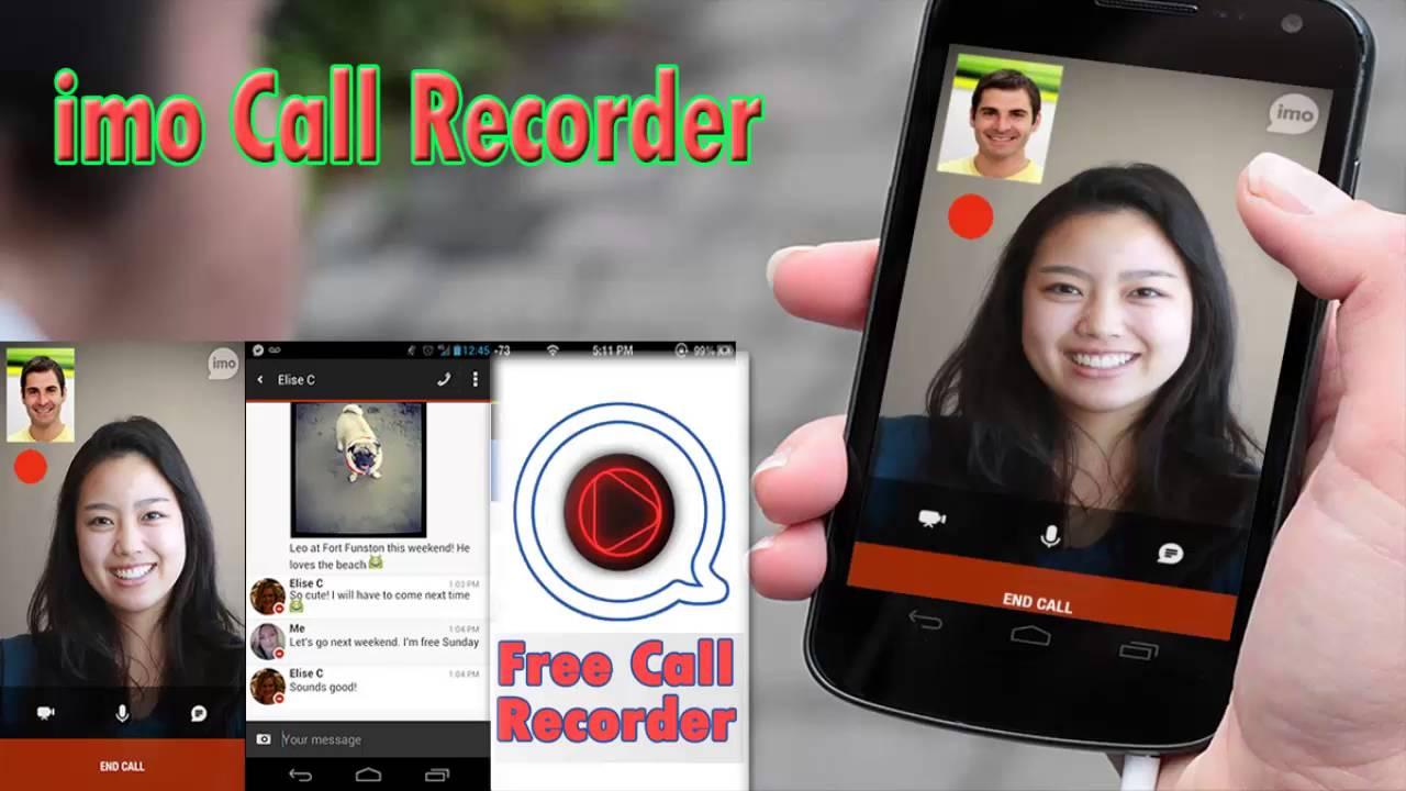 imo call recording video