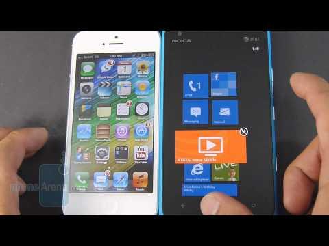 Apple iPhone 5 vs Nokia Lumia 900