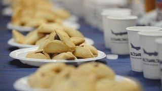 The Bear Mauls The El Al National Hamantaschen Eating Championship