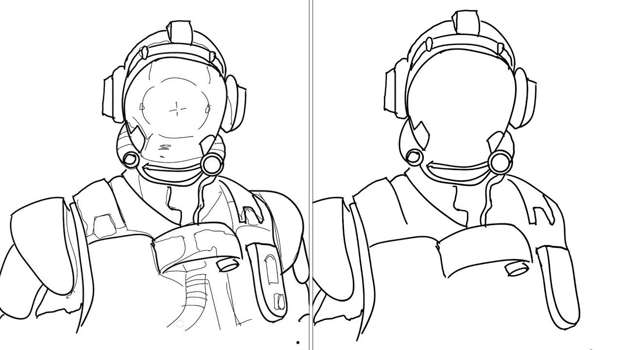 Image Of Fortnite Para Colorear Deriva Cómo Dibujo A