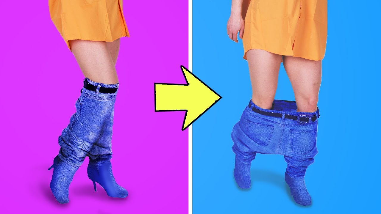 [VIDEO] – 31 CRAZY CLOTHING DIY IDEAS THAT ARE TRENDY RIGHT NOW