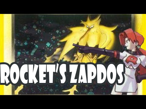 Time Capsule #6, Gen 1: Strongest basic in the format, Rocket's Zapdos