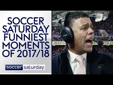 Soccer Saturday: Funniest Moments of 2017/18!