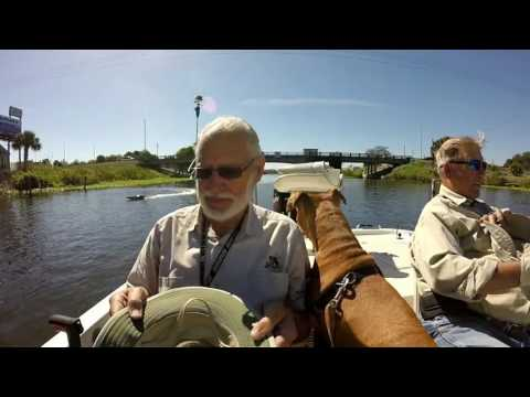 Fishing Taylor Creek at Lake Okeechobee with Shelby