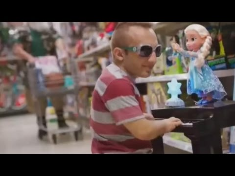 Santa and Elf Shopping Kmart Commercial song