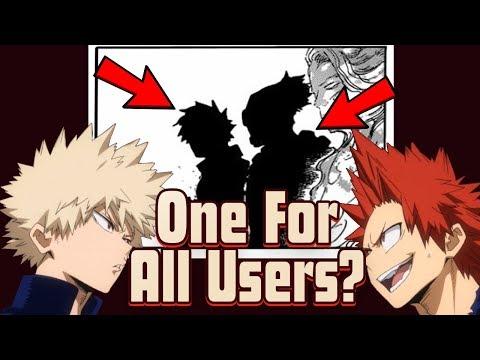 Bakugo and Kirishima WILL Become One for All Users - My Hero Academia Theory