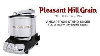 Ankarsrum Mixer Small Batch: 1 lb. Whole Wheat Bread Dough