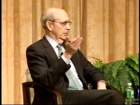 Antonin Scalia and Stephen Breyer debate the Constitution