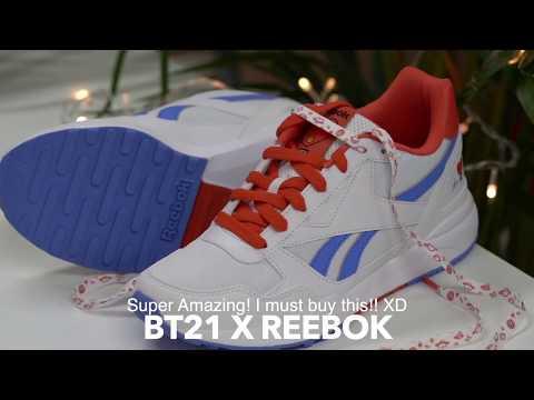 64ec19157a42 BT21 x Reebok Tata Royal Bridge 2.0 shoe bts sneakers