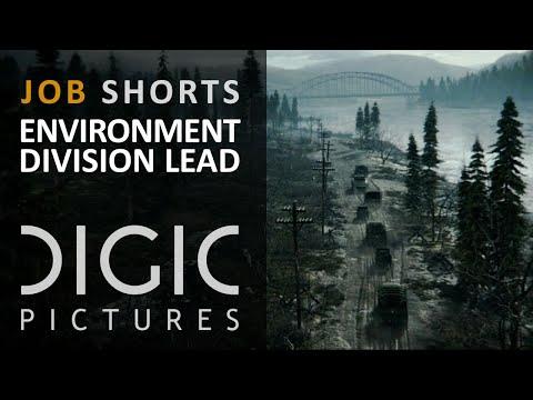 DIGIC Job Shorts - Lead of Environment Division