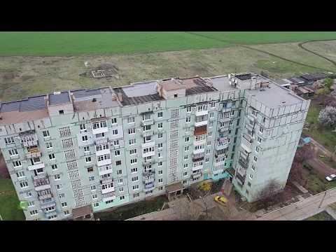 Бахмут (Артемовск)  Летаем по району Юбилейная ...