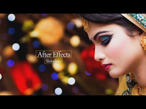 How To Create an Amazing  Photo Slideshow in After Effects Tutorial