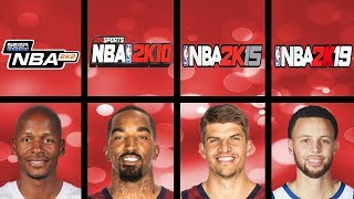 Highest Rated 3 Point Shooters Ever in NBA 2K Games (NBA 2K1 - NBA 2K19)